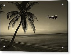 The Last Flight Out Acrylic Print