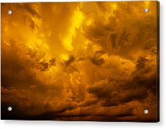 Acrylic Print featuring the photograph The Last Glow Of The Day 008 by NebraskaSC