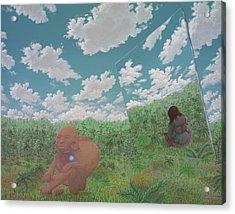 The Last Itza Acrylic Print by Jon Carroll Otterson