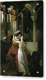 The Last Kiss Of Romeo And Juliet Acrylic Print