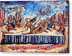 The Last Muse Acrylic Print by Darwin Leon