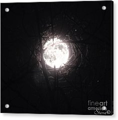 The Last Nights Moon Acrylic Print