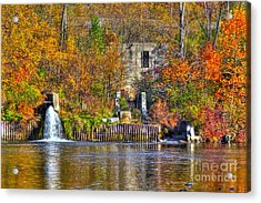 The Last Of The Old Mill Acrylic Print