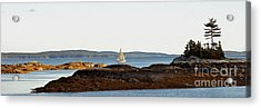 The Last Sail Acrylic Print by Christopher Mace