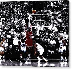 The Last Shot 5 Acrylic Print by Brian Reaves