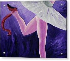 The Last Slipper Acrylic Print by Donna Blackhall