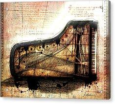 The Last Sonata Acrylic Print