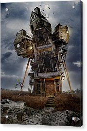 The Last Sprout Acrylic Print by Alexander Kruglov
