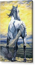 The Last Stand Acrylic Print by Melody Perez