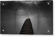 Acrylic Print featuring the photograph The Last Steps by Keith Elliott