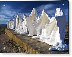 The Last Supper Acrylic Print by DRK Studios