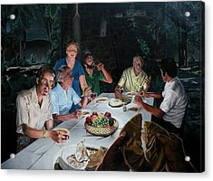 The Last Supper Acrylic Print by Dave Martsolf