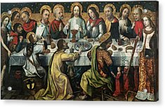 The Last Supper Acrylic Print by Godefroy
