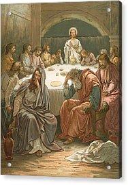 The Last Supper Acrylic Print by John Lawson