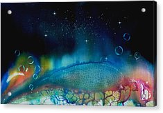 The Last Turtle From The Sea Of Cassiopeia Acrylic Print by Lee Pantas