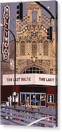 The Last Waltz Acrylic Print by Mike Hill