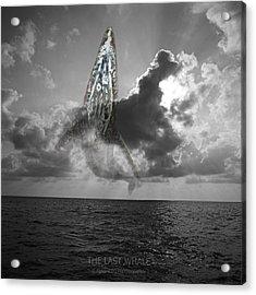The Last Whale Acrylic Print by Andy Frasheski