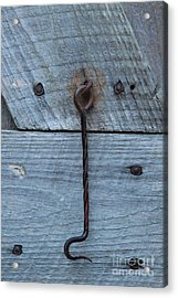 The Latch Acrylic Print by Robert Pearson