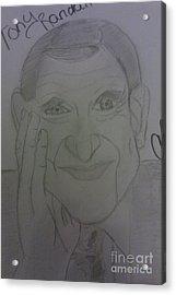 The Late Actor Tony Randall Acrylic Print