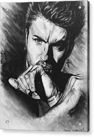 The Late Great George Michaels Acrylic Print by Darryl Matthews