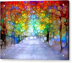 The Laughing Forest Acrylic Print
