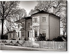 The Laurel Hill Mansion Acrylic Print by Olivier Le Queinec