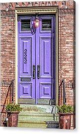 The Lavender Door Acrylic Print by Jon Woodhams