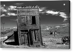 The Leaning Tower Of Bodie Acrylic Print by Marius Sipa