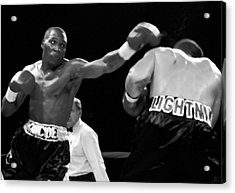 The Left Jab Acrylic Print by David Lee Thompson