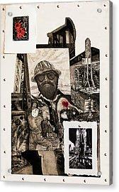 The Legend Of Riggo Maddix Acrylic Print