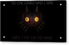 The Legend Of Zelda Majora's Mask Acrylic Print