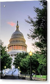 The Legislative Branch Acrylic Print by JC Findley