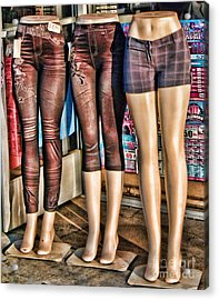 The Legs Have It Acrylic Print