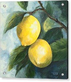 The Lemon Tree Acrylic Print by Torrie Smiley