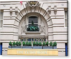 The Lenox Hotel - Boston Ma Acrylic Print