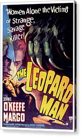 The Leopard Man Acrylic Print by Movieworld Posters