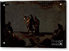 The Liberation Of Saint Peter Acrylic Print by Celestial Images