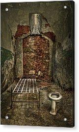 The Life Of Crime Acrylic Print by Evelina Kremsdorf