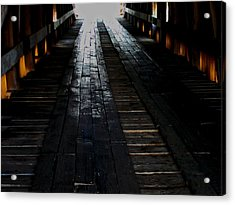The Light At The End Acrylic Print by Martin Morehead