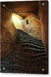 The Light At The End Of The Tunel Acrylic Print by Lucian Badea