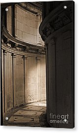 The Light At The End Of The Tunnel... Acrylic Print by Cendrine Marrouat