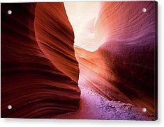 Acrylic Print featuring the photograph The Light At The End by Stephen Holst