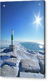 Acrylic Print featuring the photograph The Light Keepers by Phil Koch