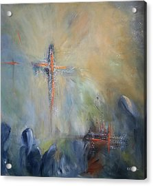 The Light Of Christ Acrylic Print