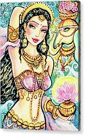 The Light Of Lakshmi Acrylic Print