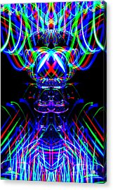 The Light Painter 53 Acrylic Print