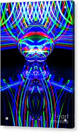 The Light Painter 54 Acrylic Print