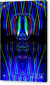 The Light Painter 55 Acrylic Print