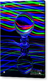 The Light Painter 56 Acrylic Print