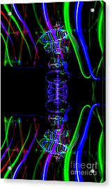 The Light Painter 57 Acrylic Print